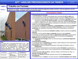 APT 34 - Trabalho em Fachada