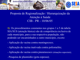 1 - Secretaria de Estado da Saúde do Paraná