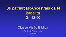 """27/03/2011 - Iberê Arco e Flexa, com o tema """"Os Patriarcas"""