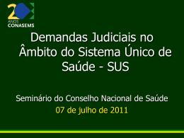 Fernanda Vargas Terrazas - Conselho Nacional de Saúde