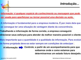 Reforço Sistemas de Informação