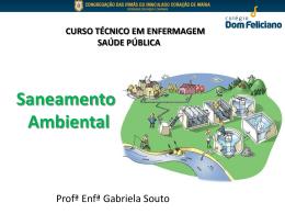 Saneamento Ambiental - Colégio Dom Feliciano