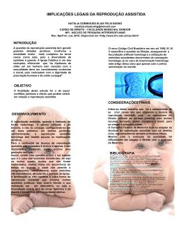 implicações legais da reprodução assistida