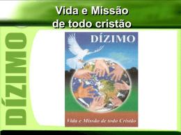 Campanha_Dizimo_2008 - Diocese de Caraguatatuba
