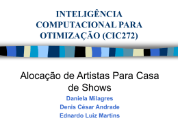 inteligência computacional para otimização (cic272) - DECOM-UFOP