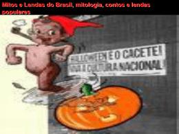 Trabalho sobre folclore - escola Marechal Rondon