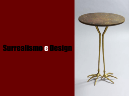 Surrealismo e Design