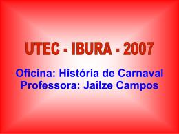 Oficina História de Carnaval 2007