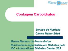 Contagem de Carboidratos - aula setembro