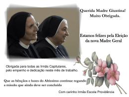 Querida Madre Giustina!