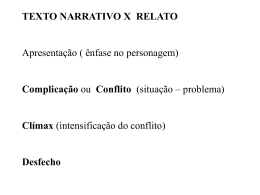 NARRATIVA-RELATO UEM