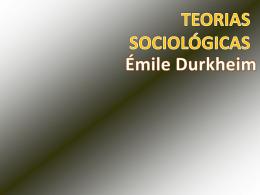 Pensamento sociológico