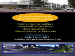 CASO CLÍNICO - NEONATOLOGIA