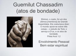 Guemilut Chassadim (atos de bondade)