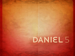 Daniel Capitulo 5
