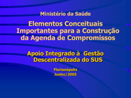 Modelos Assistenciais na Evolução das Políticas de Saúde no Brasil