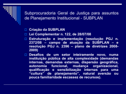 Slide 1 - Ministério Público do Paraná