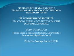 Justiça Social e Educação