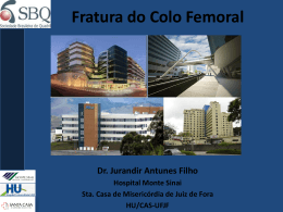 Fratura do colo do fêmur