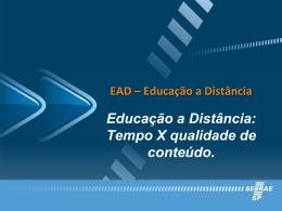 EAD - Revista T & D