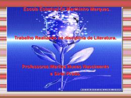 vanessa e marcia literatura - escola estadual dr martinho marques