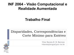 Disparidades Corresp.. - PUC-Rio