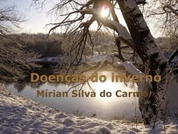 Doenças do inverno - IASD Alphaville e Aldeia da Serra