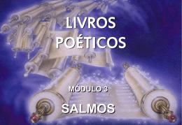 livros poéticos módulo 3 salmos