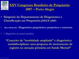 Lygia Maria Pereira - Associação Brasileira de Psiquiatria