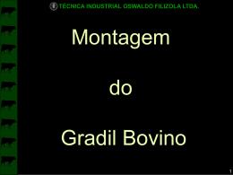 Slide 1 - Técnica Industrial Oswaldo Filizola Ltda