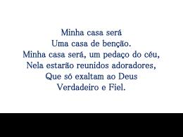 MINHA CASA SERÁ1