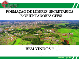 www.upf.br - Universidade de Passo Fundo
