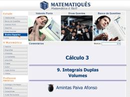 Cálculo de Volumes