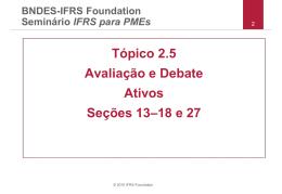 Tópico 2.5 Avaliação e Debate Ativos