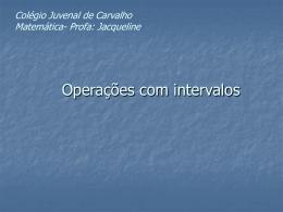 a.(-2) - Colégio Juvenal de Carvalho