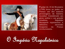 o imperio napoleônico