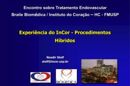 Procedimentos híbridos no tratamento endovascular