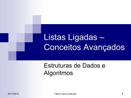 Listas Ligadas - caversan.eng.br