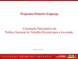 Programa Primeiro Emprego