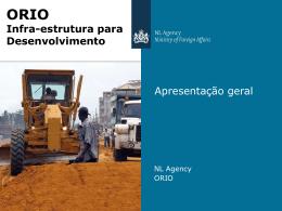 ORIO Infra-estrutura para Desenvolvimento