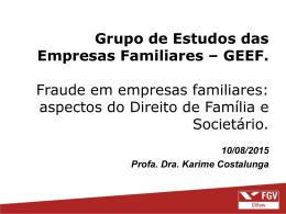 Fraudes em Empresas Familiares