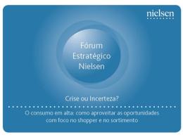 Estudo Nielsen revela: Consumo volta a crescer no Brasil