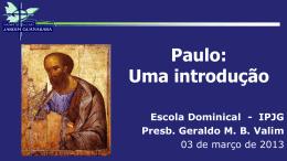 Paulo, uma introdução