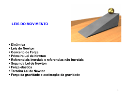 Leis do movimento