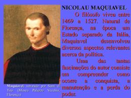Aula - Maquiavel