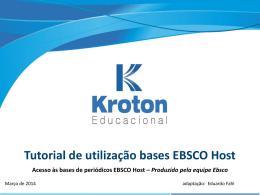 Slide 1 - Kroton