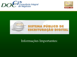 Governo Eletrônico (Informações re