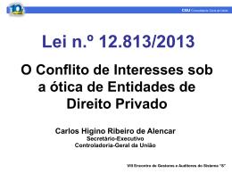 Palestra 02 - Carlos Higino Ribeiro de Alencar
