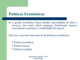 MERCADOS FINANCEIROS