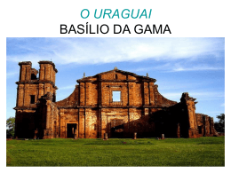 O URAGUAI BASÍLIO DA GAMA